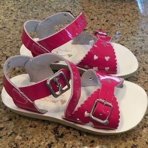 Shoes - Toddler gold Sun San Sandals, Pink Sun San Sandals
